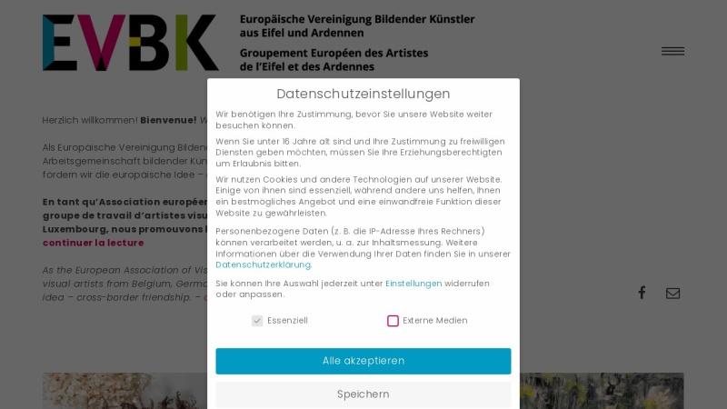 www.evbk.org Vorschau, EVBK Vereinigung bildender Künstler aus Eifel und Ardennen e.V.