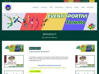 screenshot eventiesportpertutti.it