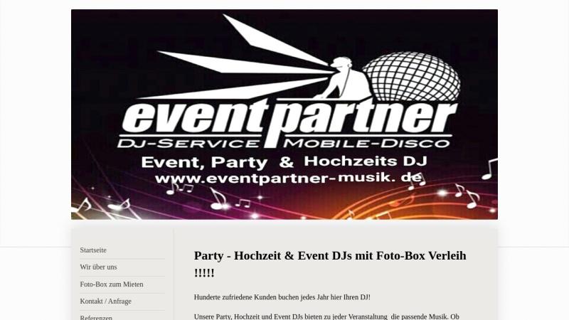 www.eventpartner-musik.de Vorschau, Eventpartner, Kai Stigmann
