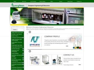 Screenshot bagi evergreensel.com.my