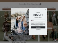 Everyday Chic Boutique Fast Coupon & Promo Codes