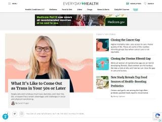 Screenshot for everydayhealth.com