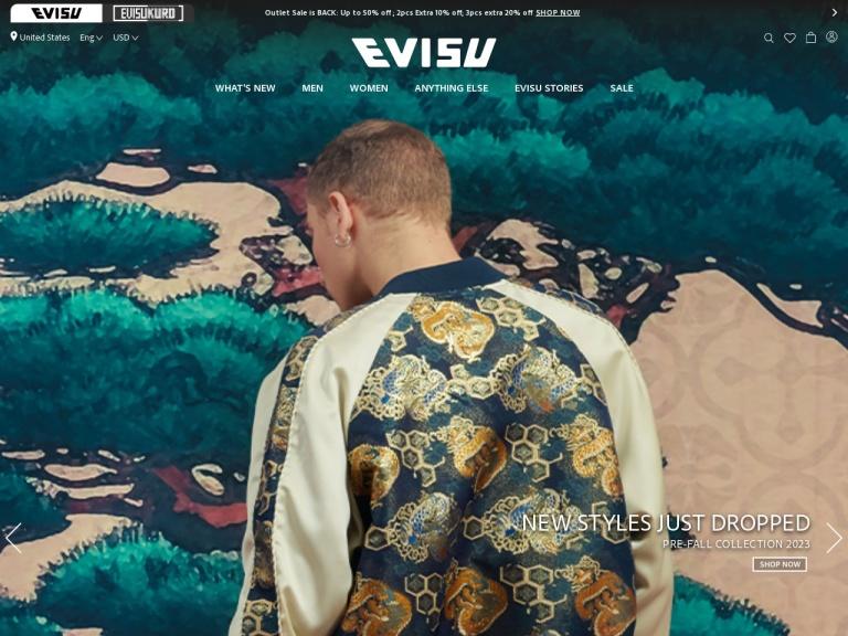 Evisu Group Limited Coupon Codes