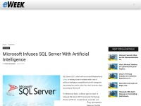 http://www.eweek.com/database/microsoft-infuses-sql-server-with-artificial-intelligence