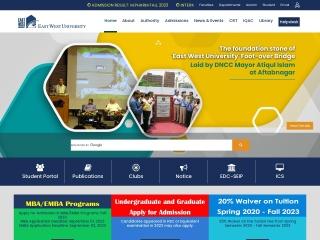 ewubd.edu-এর স্ক্রীণশট
