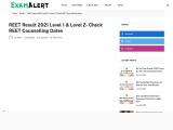 REET Recruitment 2021 Notification (Out) 31000 Posts  3rd Grade Teacher