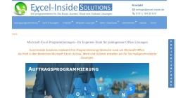 www.excel-inside.de Vorschau, Excel Inside Solutions