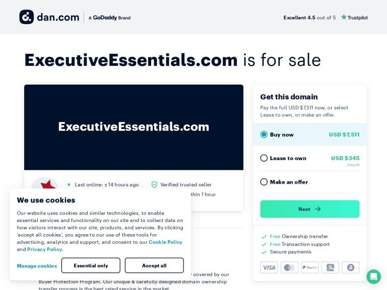 ExecutiveEssentials.com Coupon Codes