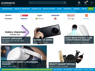 Screenshot for expansys.ae