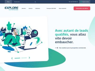 Explore.fr-Veille commerciale pour entreprise