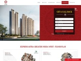 Express Astra Noida Extensio Floor Sizes