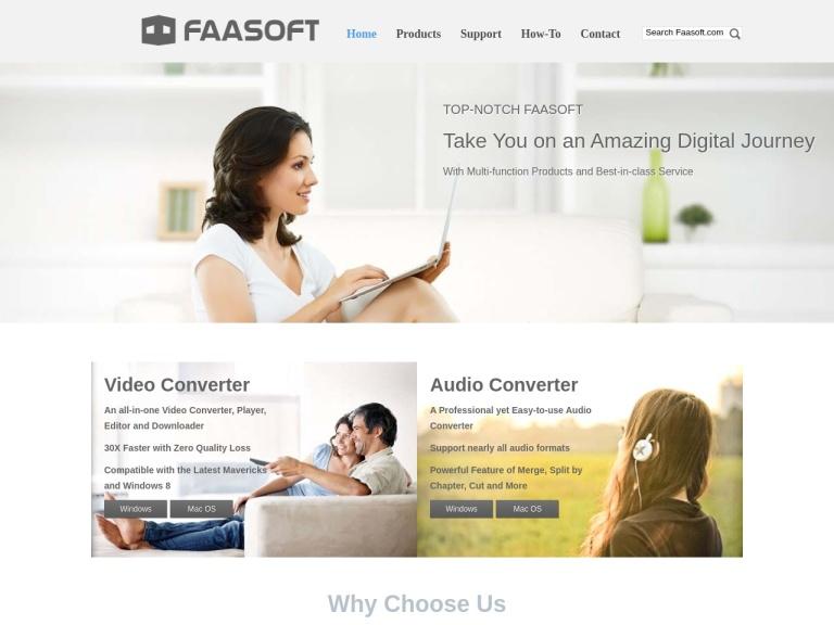 Faasoft Corporation screenshot