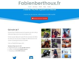 Capture d'écran pour fabienberthoux.fr