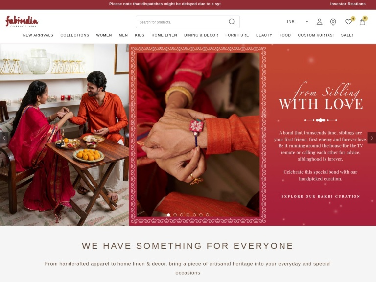 Fabindia Coupons screenshot