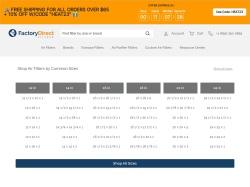 Factory Direct Filters screenshot