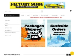 Factory Shoe | Buy Shoes Online Canada