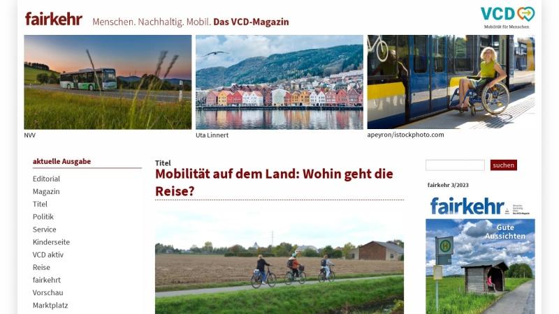 www.fairkehr-magazin.de Vorschau, fairkehr