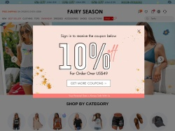 FairySeason coupon codes