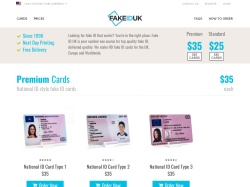 Fake ID UK