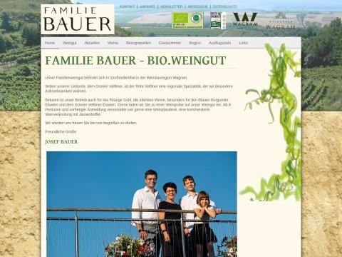 Familie Bauer - Bioweingut