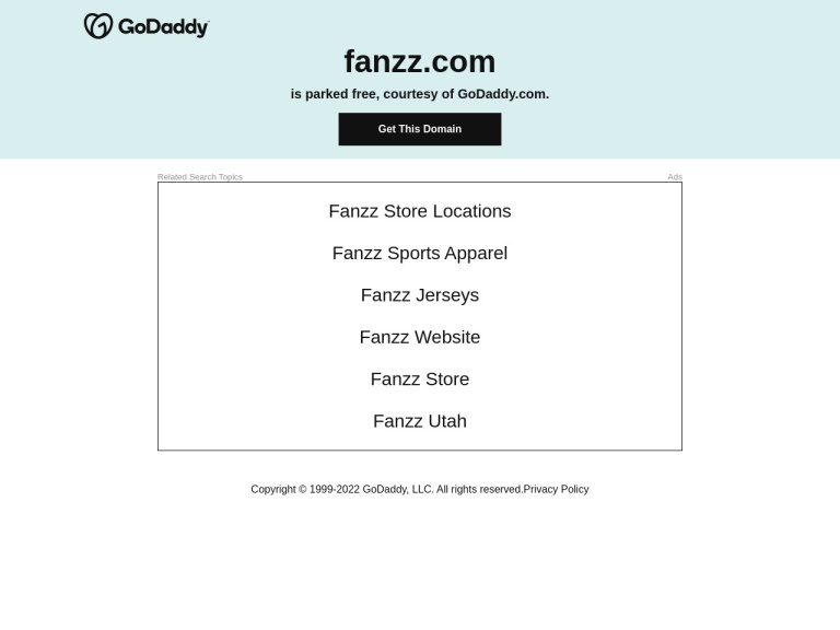 Fanzz.com screenshot