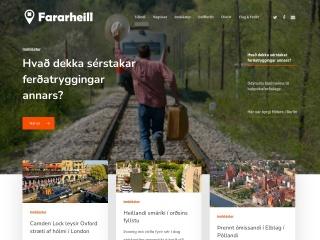 Screenshot for fararheill.is