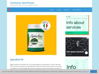 screenshot farmaciapastorepasquale.it