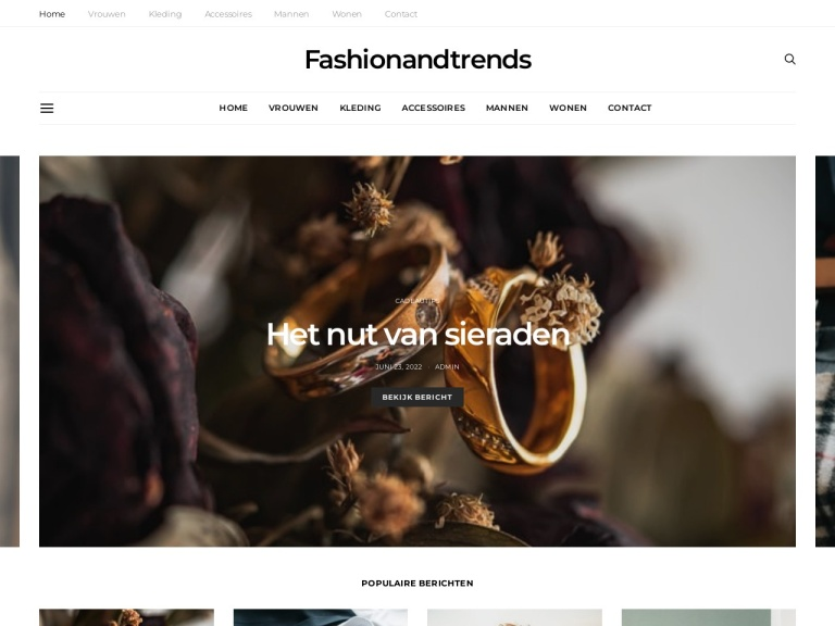 Fashionandtrends.nl screenshot