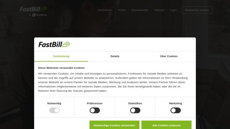 www.fastbill.com Vorschau, FastBill.com Limited
