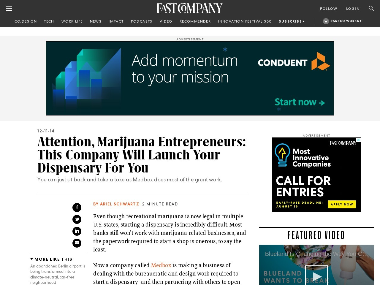 Attention, Marijuana Entrepreneurs: This Company Will …