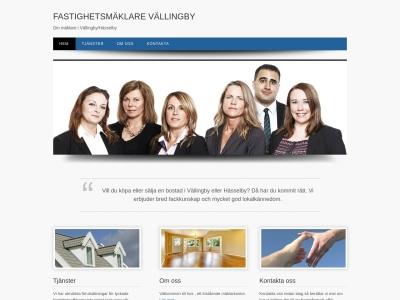 www.fastighetsmaklarevallingby.se