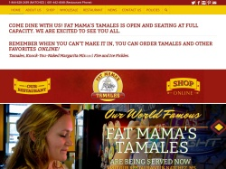 Fat Mama's Tamales coupon codes February 2018