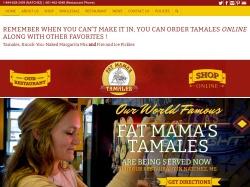 Fat Mama's Tamales coupon codes December 2017