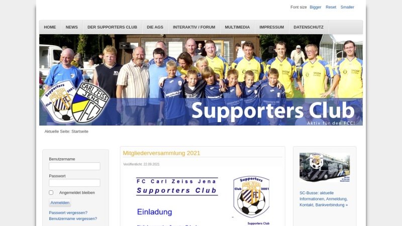 www.fcc-supporters.de Vorschau, FCC Supporters