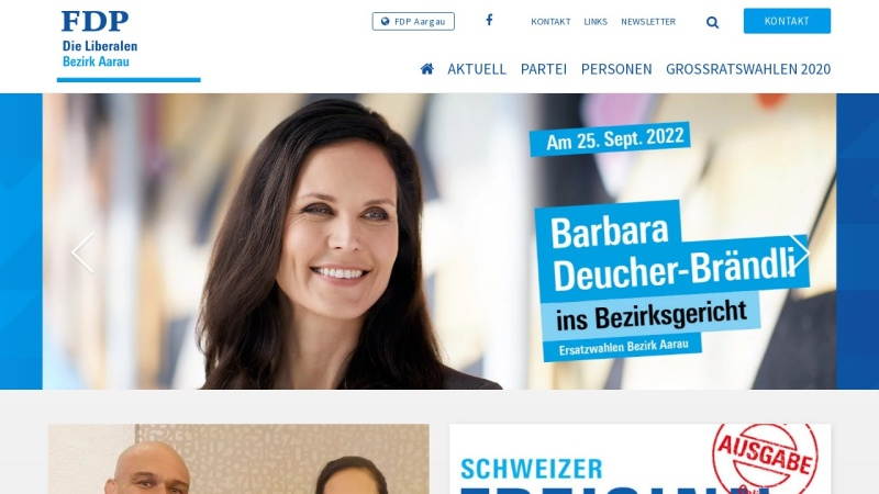 www.fdp-bezirk-aarau.ch Vorschau, FDP Bezirk Aarau