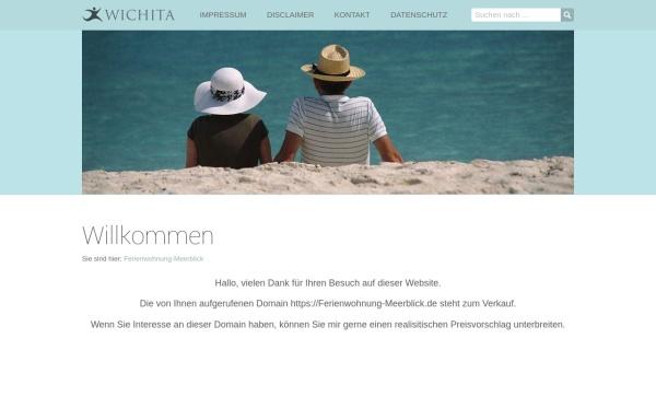 Vorschau von www.ferienwohnung-meerblick.de, Ferienwohnung Meerblick