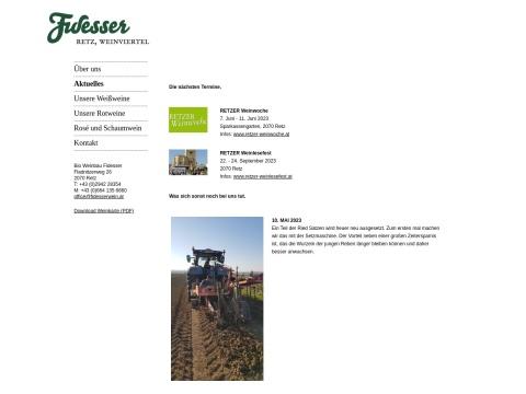 Bio Weinbau Fidesser