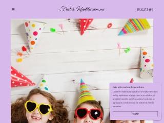 Captura de pantalla para fiestasinfantiles.com.mx