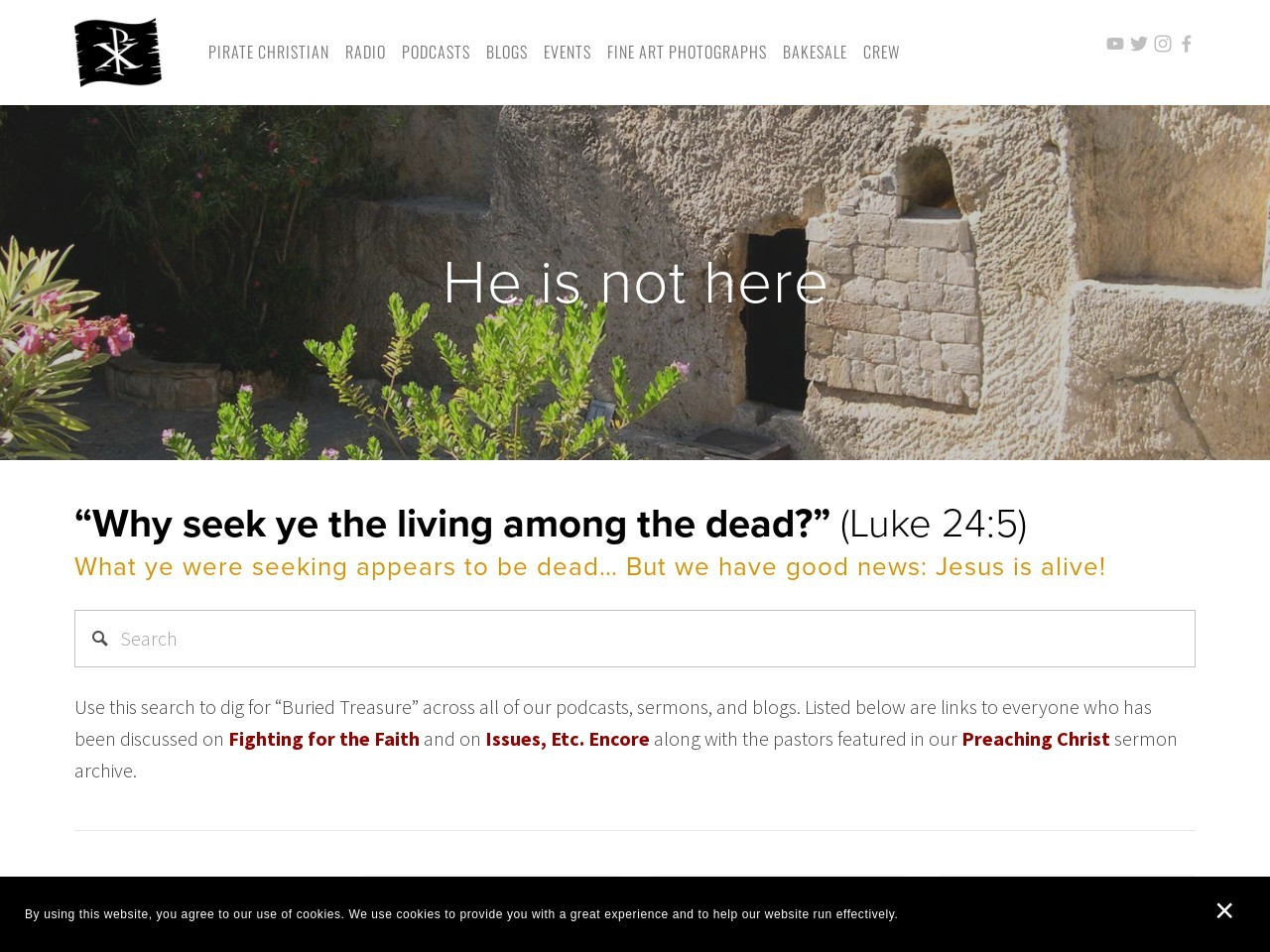 Fighting for the Faith: Proof that Jesus Wasn't Poor?