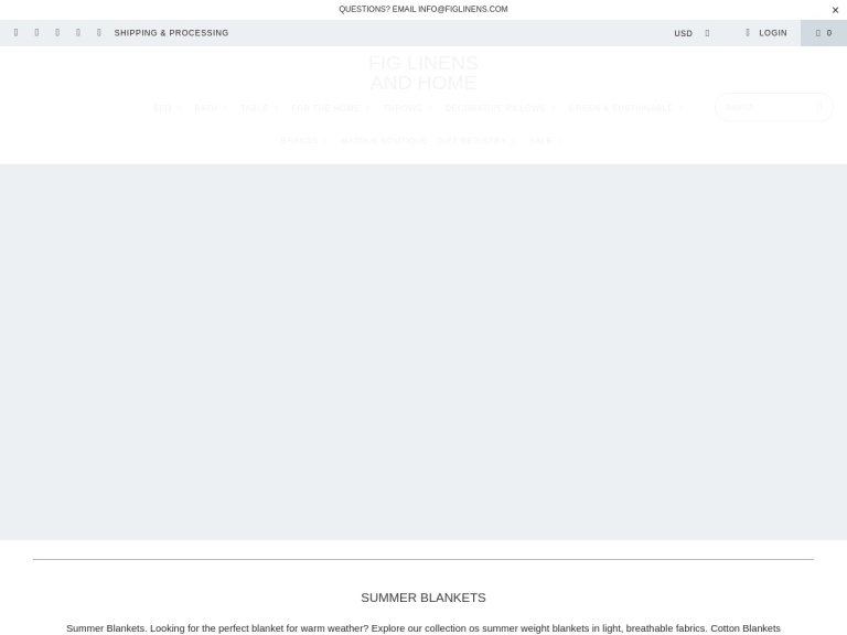 Fig Linens screenshot