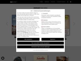 Screenshot der Website filmladen.at