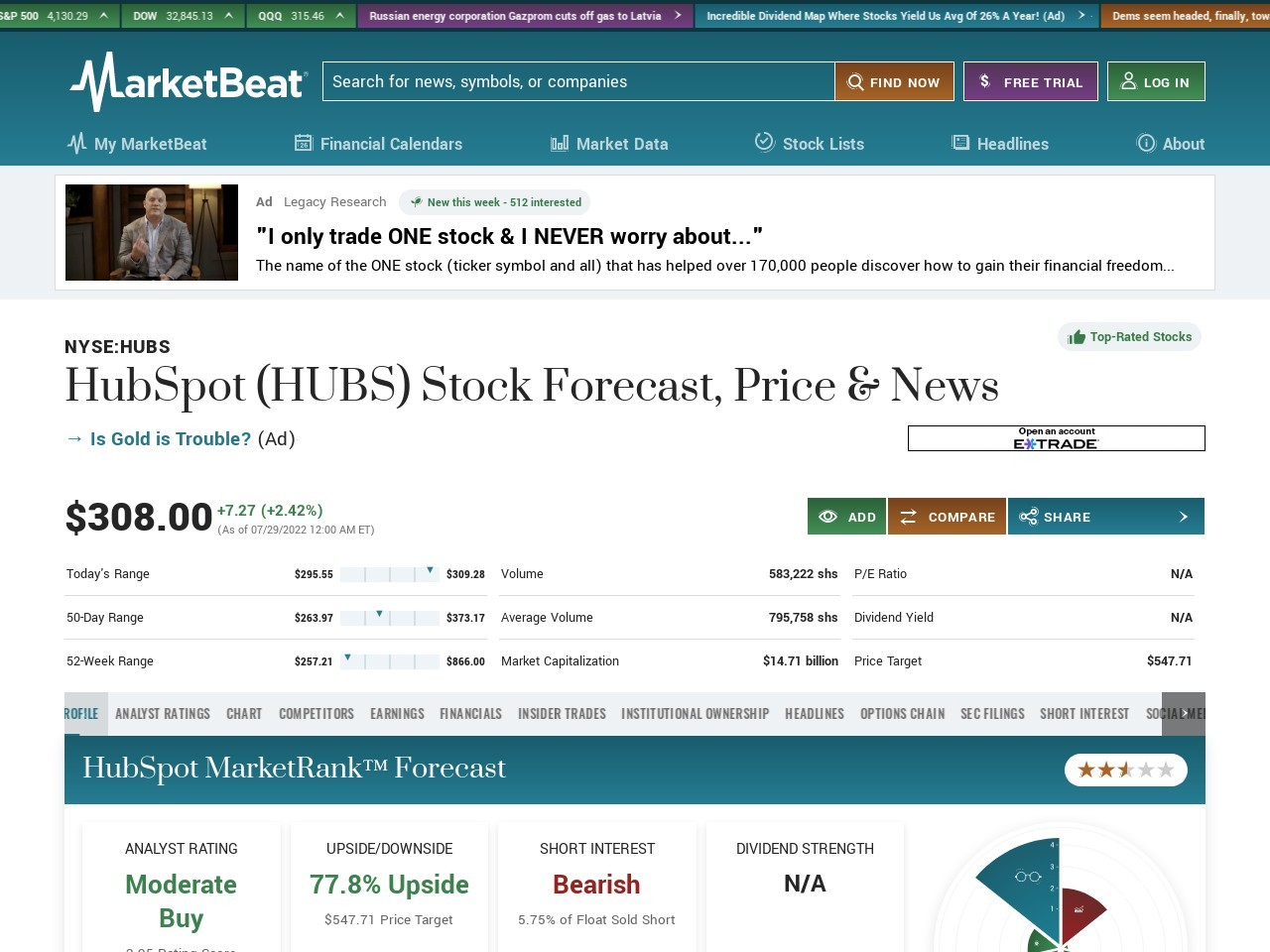 Stacey Bishop Sells 83154 Shares of HubSpot Stock (HUBS)
