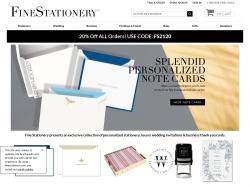 FineStationery.com screenshot