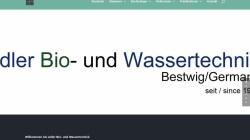 www.firmaadler.de Vorschau, Adler Bio- und Wassertechnik