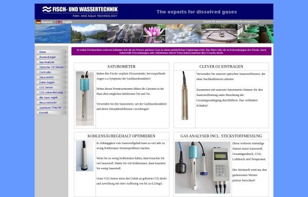 Vorschau von www.fischundwasser.de, Rappl Fisch- und Wassertechnik