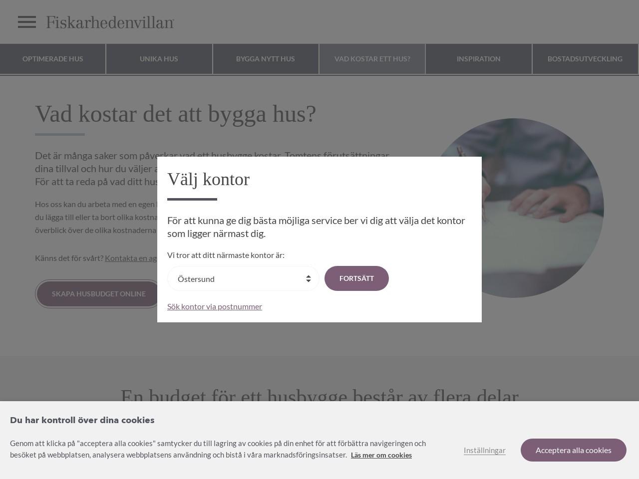 Billiga Priser Hus - Hustillverkare & Fritidshus - Fiskarhedenvillan