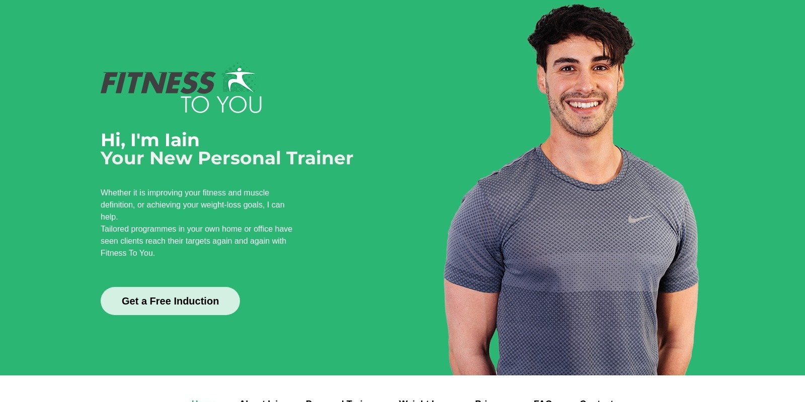 Preview of http://www.fitnesstoyou.co.uk