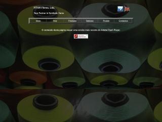 Screenshot do site fitor.pt