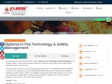 List of Fire and Safety Courses at Flame Institute of Fire & Safety Management
