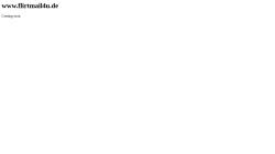 www.flirtmail4u.de Vorschau, Flirtmail4u, das Flirt und Freizeit-Portal